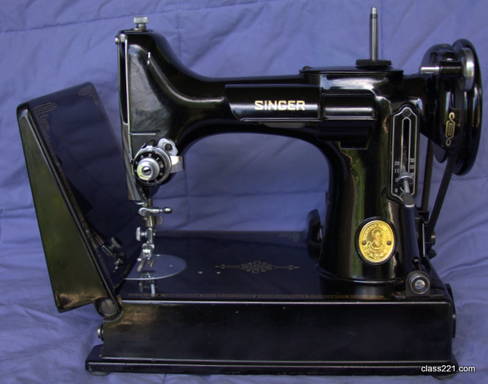 featherweight 221 dating Both the 222k and 221k were tiny machines known as the original singer featherweight machines the light aluminium frame was only 9-3/4 wide, even with.