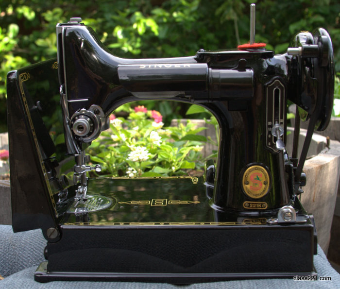 Sewing singer machine dating featherweight Still Stitching